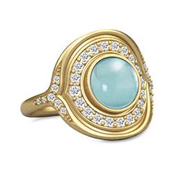 Julie Sandlau ring, Dansk smykke designer